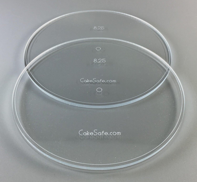 Round Acrylic Disk Set Jpg