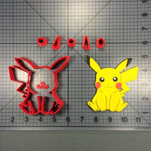 Pokemon Pikachu Cutter Set 3 inch - Annettes Cake Supplies